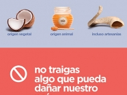 Cuando regreses a Chile, no traigas productos de origen animal y/o vegetal